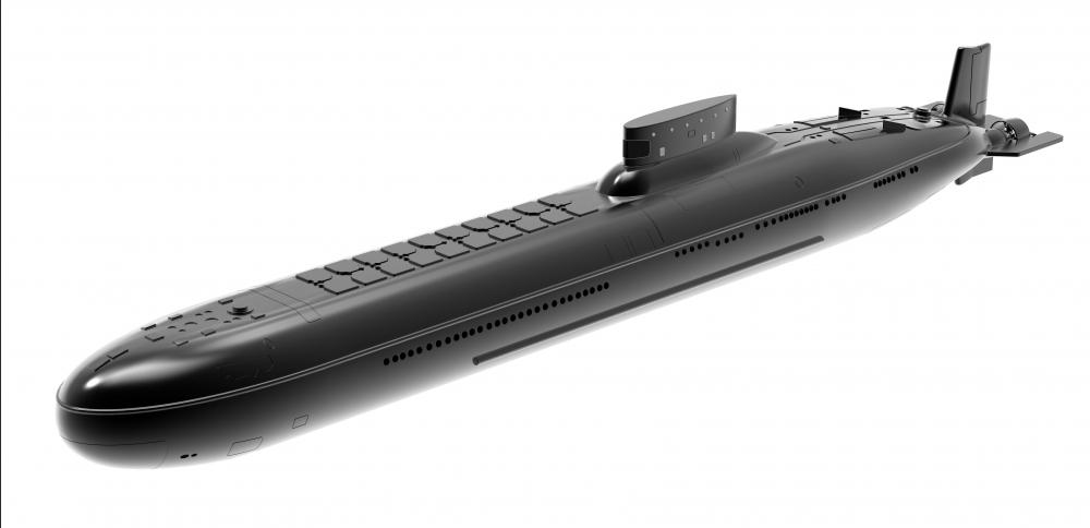 The Russian/Soviet Typhoon class submarines are designed to carry ballistic missiles.