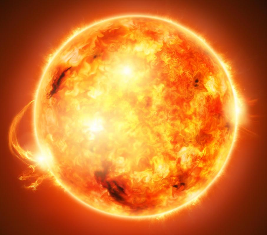The position of the sun can help predict the level of interference from solar flares.