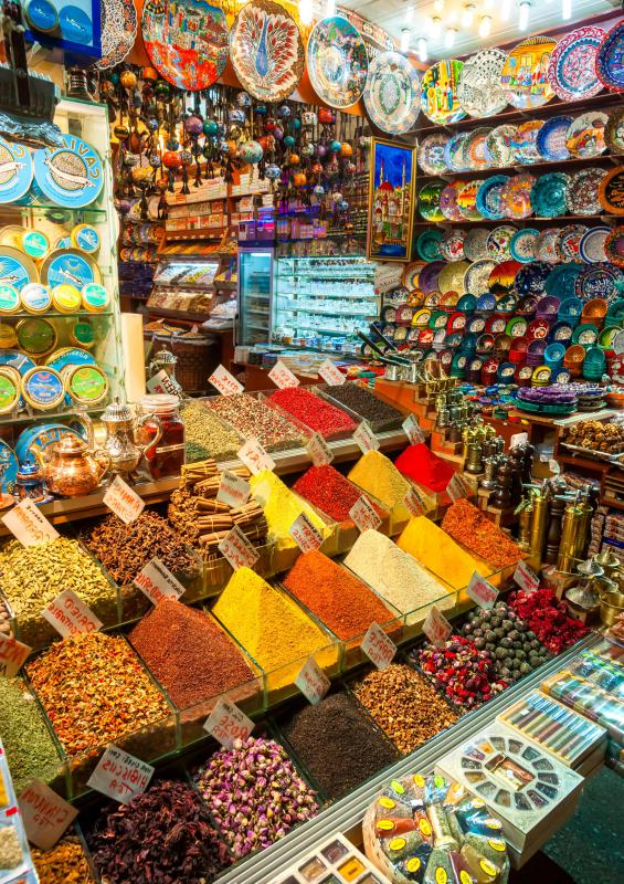 Tourists to the Middle East are often unfamiliar with bargaining in bazaars and souks.