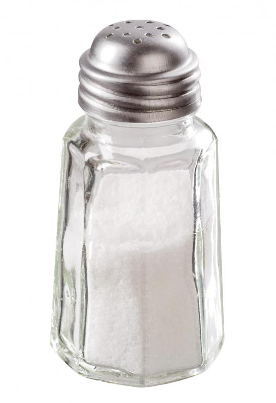 Iodized salt, which can help prevent goiters.