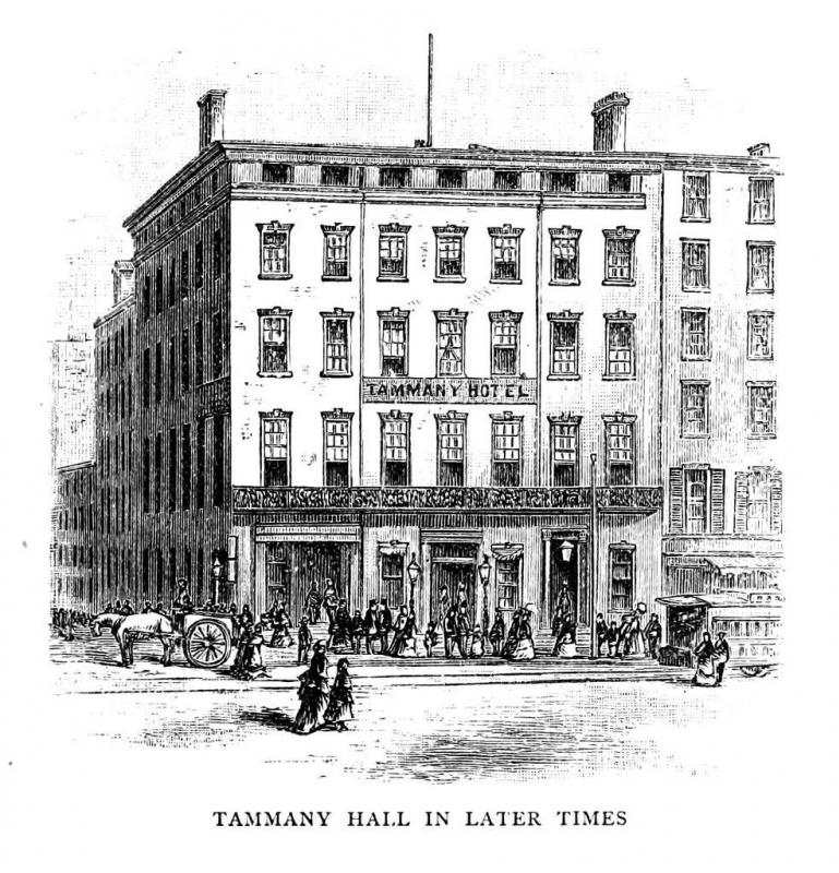 "Tammany Hall and ""Boss"" Tweed were part of the underlying corruption of the Gilded Age."