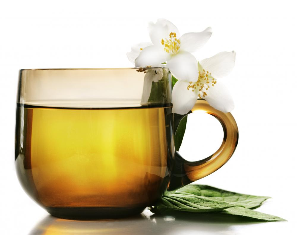 A cup of herbal tea may help relieve chest congestion.