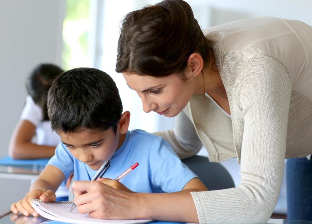 Education professionals may administer a cognitive assessment to determine if a child has a cognitive impairment.