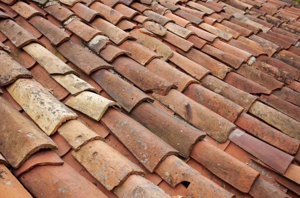 Terracotta has been used as a building material for centuries.