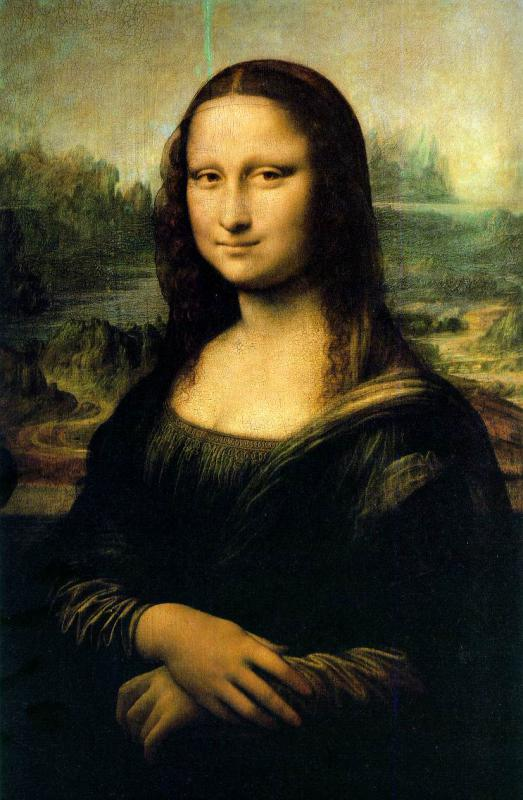 The Mona Lisa is one of Leonardo da Vinci's most well known works.