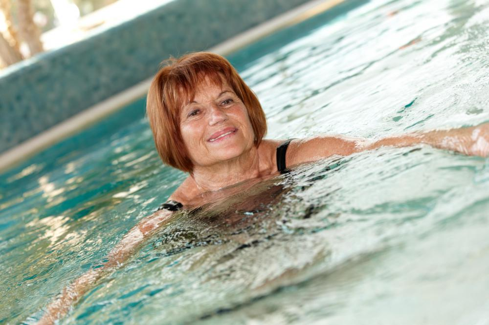 Light swimming is a good cautious approach to swimming after eating.
