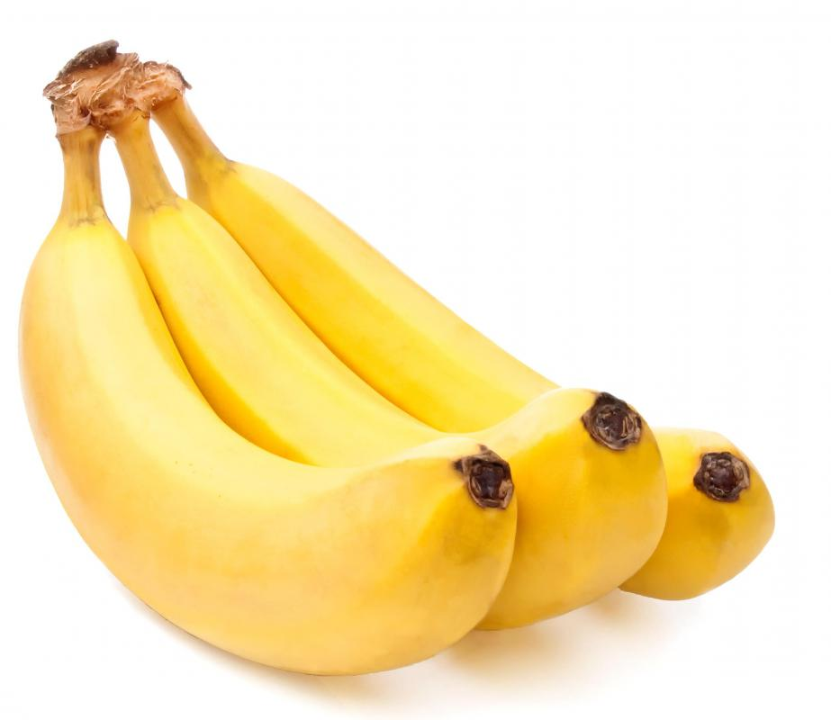 Bananas contain manganese.