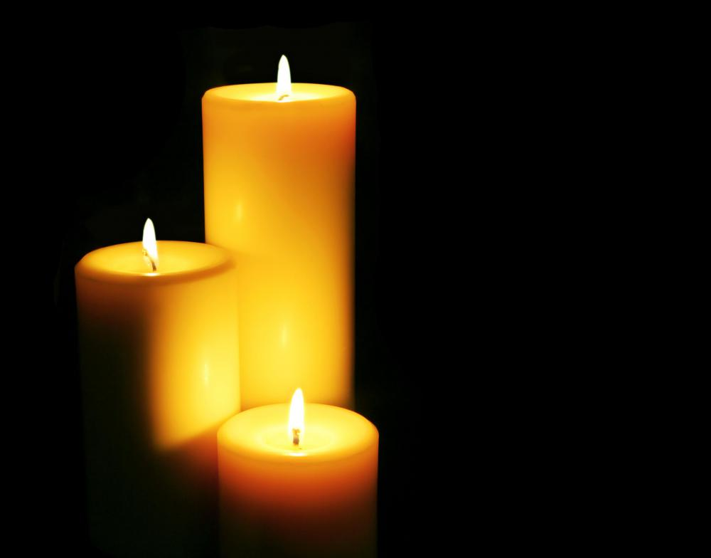 Dripless candles.