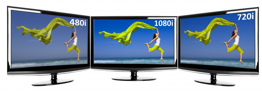 High-definition TVs require extra resolution in a film or video.