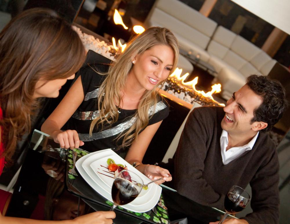 Restaurants are a good example of a service-oriented business.