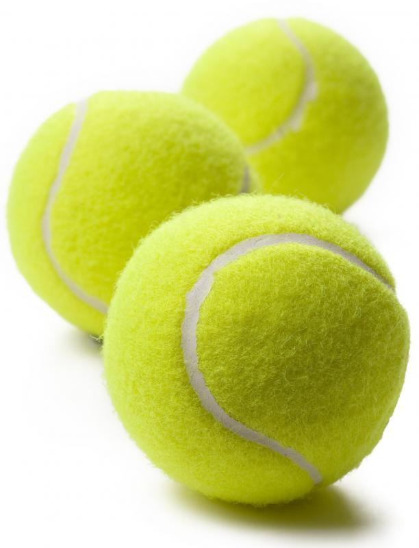 A tennis ball is roughly the same size as a half cup of cooked rice or pasta.