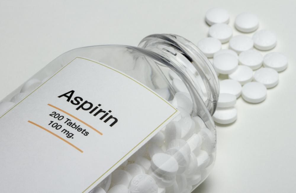 Aspirin and ibuprofen help reduce pain, inflammation, and swelling.