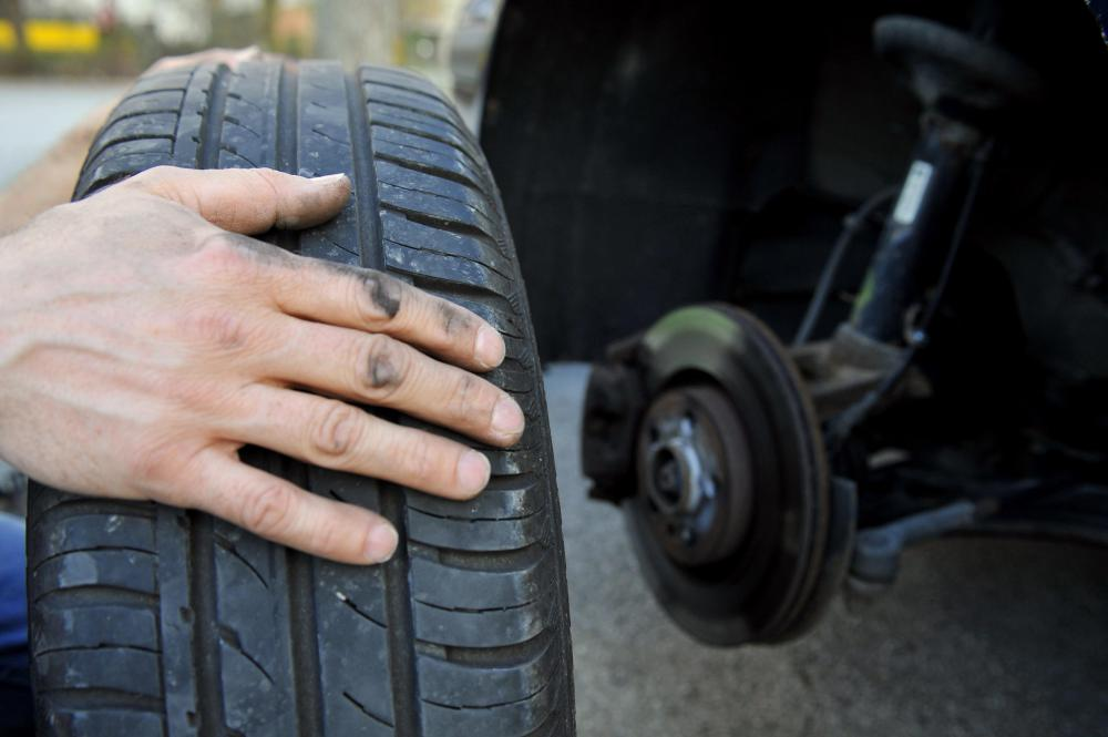 Rotating tires regularly will keep tires from wearing unevenly.