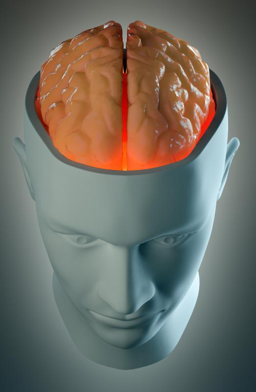 The right hemisphere controls the left side of the body, while the left hemisphere controls the right side of the body.