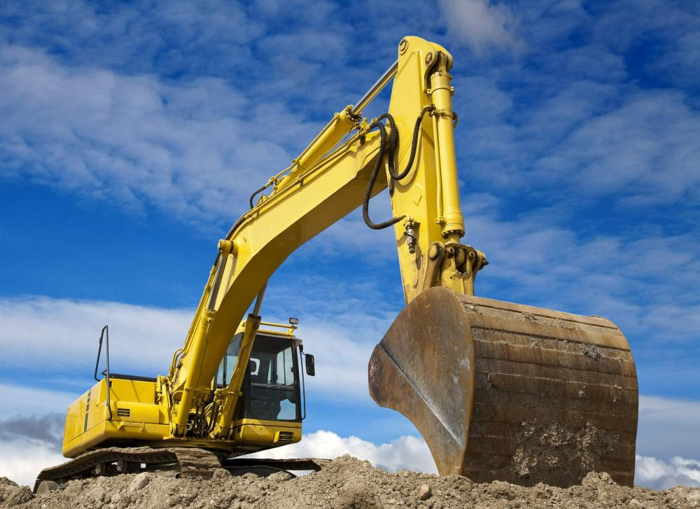 Many construction jobs, including excavator operators, require licensing.