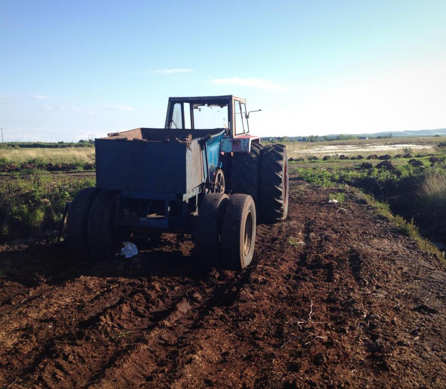 Peat may be used for fertilizing purposes on farms.