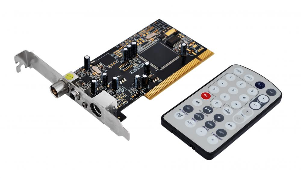 TV tuner cards can be installed on computers.