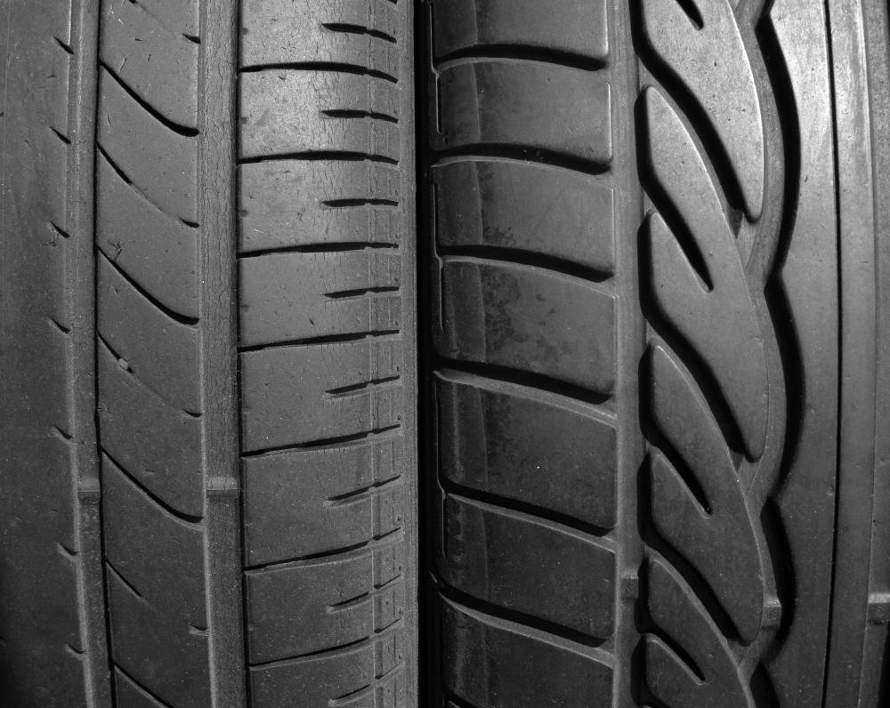 Radial tires tend to wear less easily than conventional tires do.