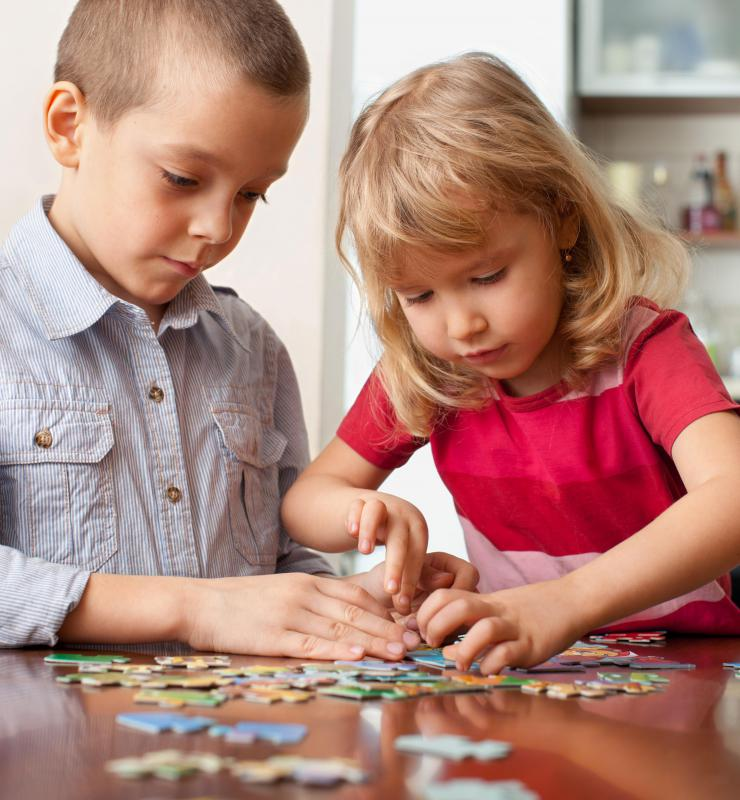 Individuals who enjoy putting puzzles together may show high capacities for different kinds of spatial-temporal thought.