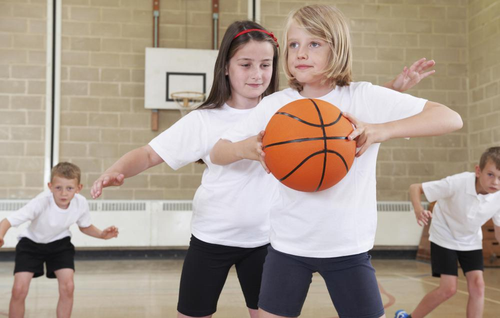 Many kids don't develop proper coordination until their teens or later.