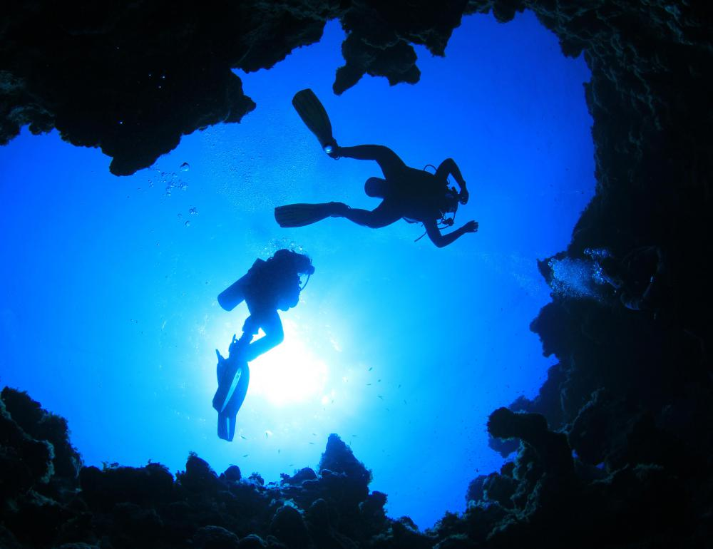 About 500 people have died while partaking in cave diving activities since 1960.