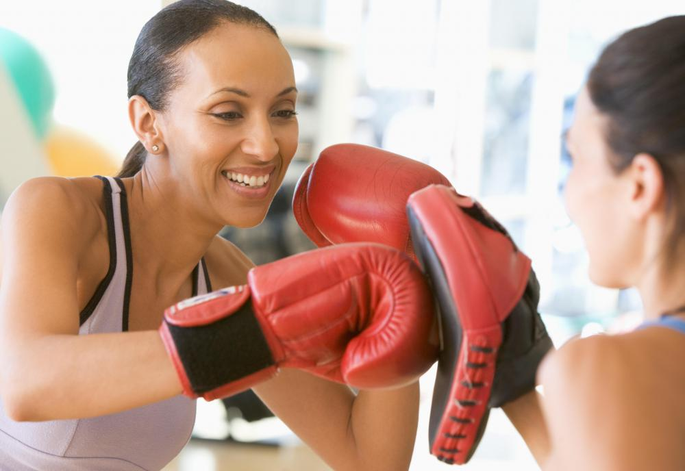A southpaw can refer to a left-handed boxer.