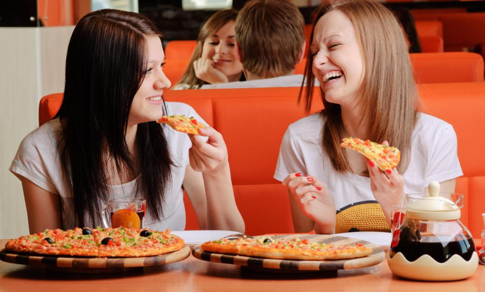 Pizza is considered a high-carbohydrate food.