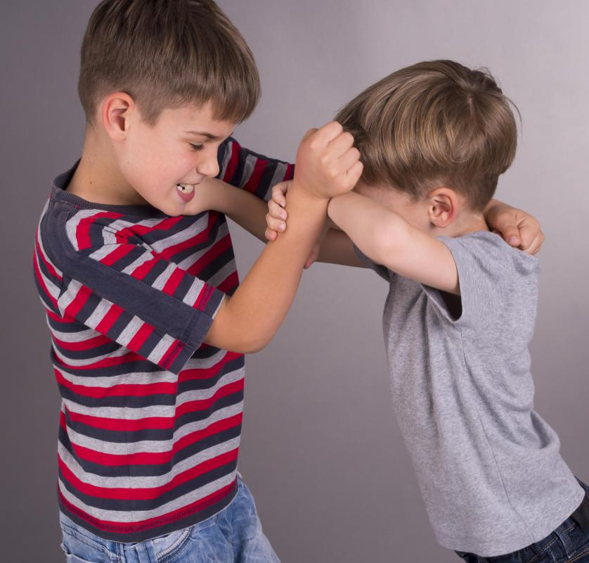 Children may be aggressive towards others for a variety or reasons.