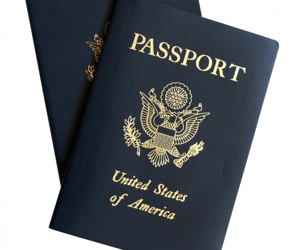 "US passports feature the Great Seal of the United States, including the phrase "" e pluribus unum.""."