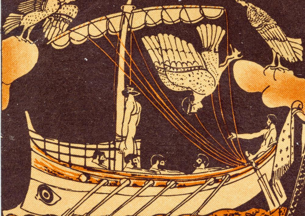 "An allusion is a modern novel might refer to a classic text, like Homer's ""Odyssey."""