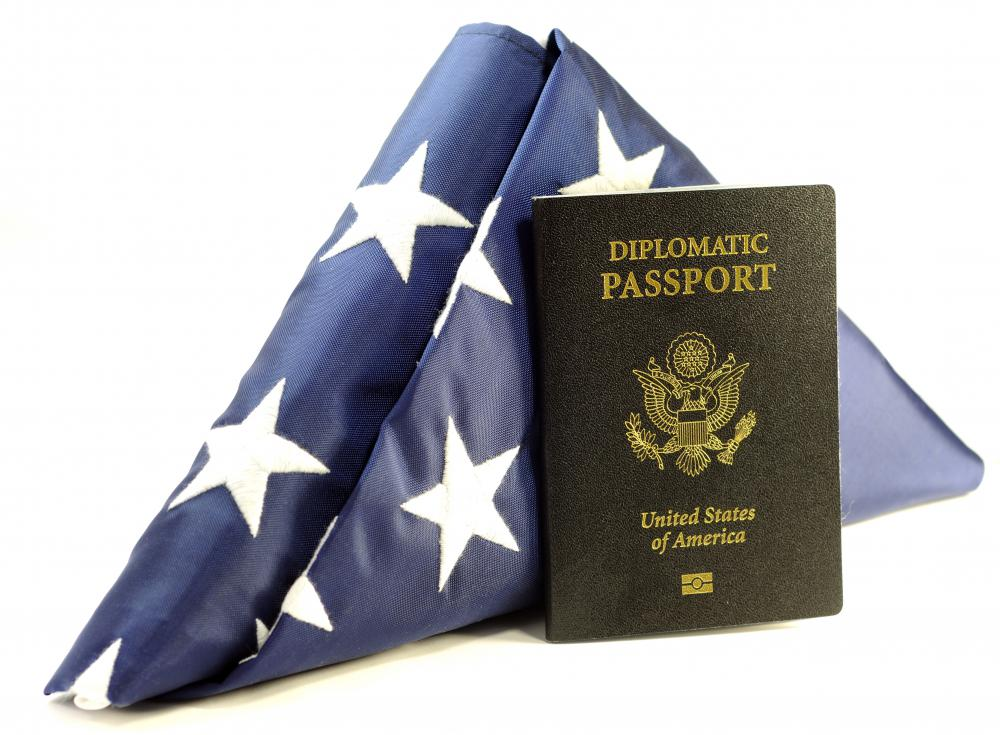 Official passports are issued to people, such as diplomats, who travel internationally on state business.