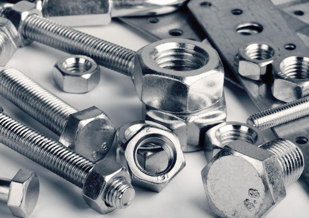 A stove bolt is a type of machine screw, which means that it has a metal shaft that does not taper and is threaded along its entire length.
