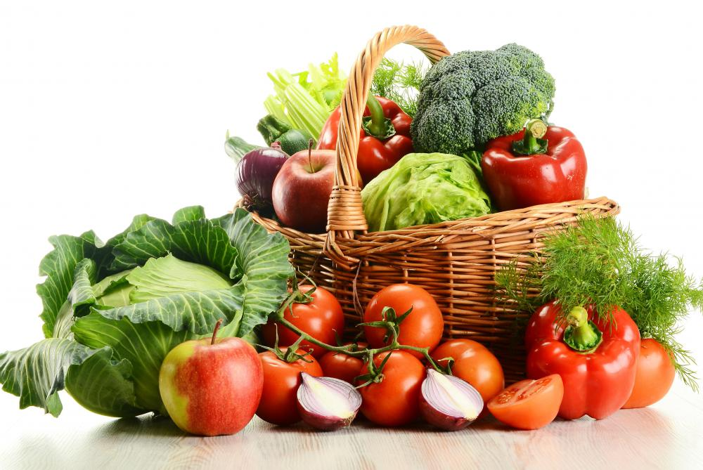 A balanced vegetarian diet can be very healthy.