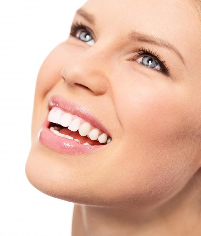 Bonding uses resins that closely match the color of surrounding teeth to correct imperfections or other problems.