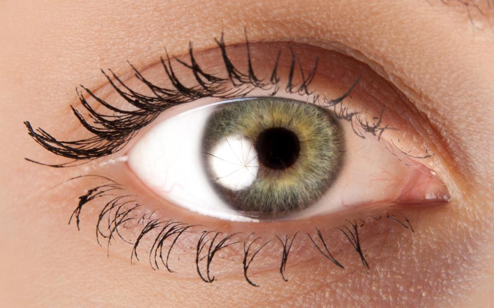 People with olive skin may have green eyes.