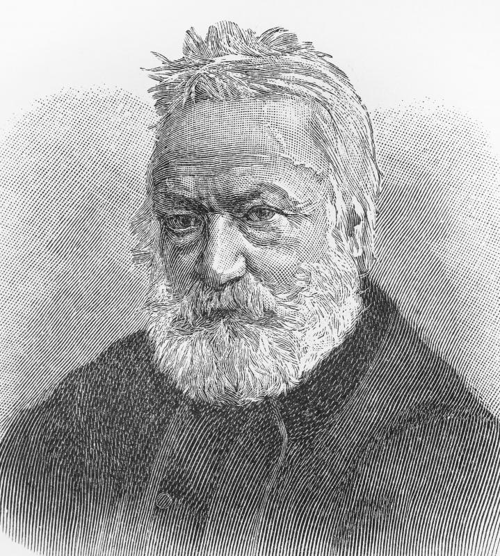 Victor Hugo is a French author who embraced the Romantic style.