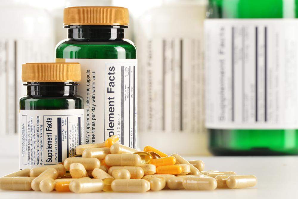 Biotin supplements may be part of a vitamin B complex.