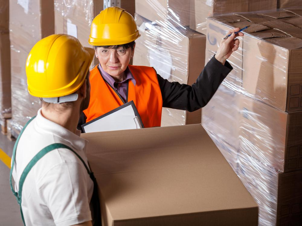 A supply chain is an organizational system used by companies to move products from their warehouses to consumers.