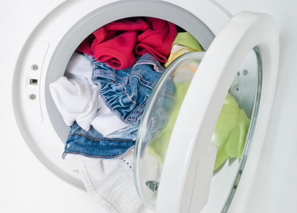 Marks from washable markers can easily be removed from clothes during a wash cycle.