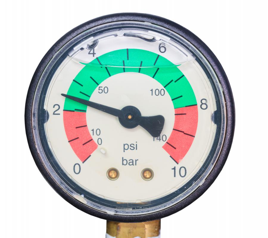 Installing a regulator helps keep water pressure within an acceptable operating range.