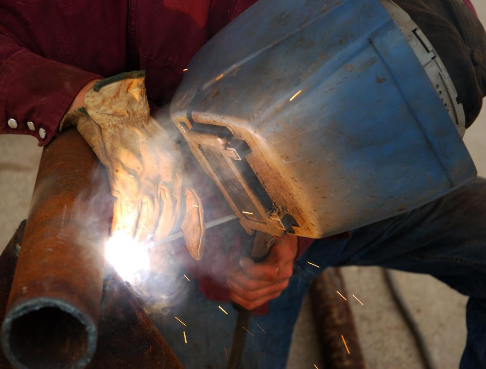 Welding is the act of joining two metals or thermoplastics by heating them.
