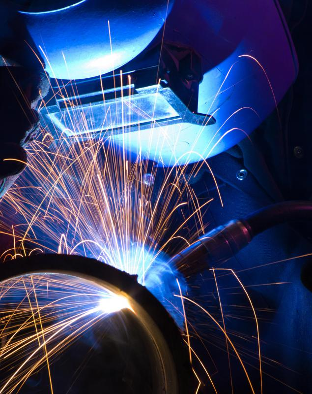 Arc welding makes use of an electrical current.