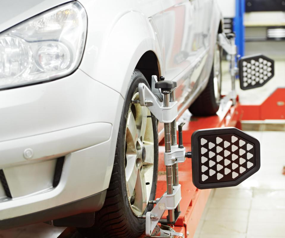 Wheel alignment typically takes less than an hour.