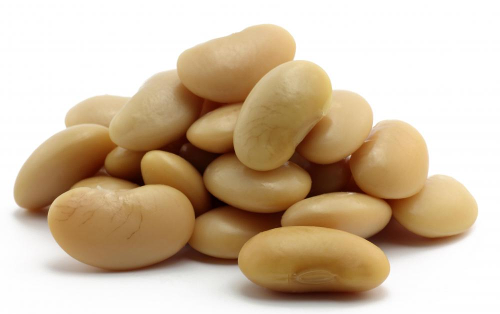 White beans, which contain manganese.