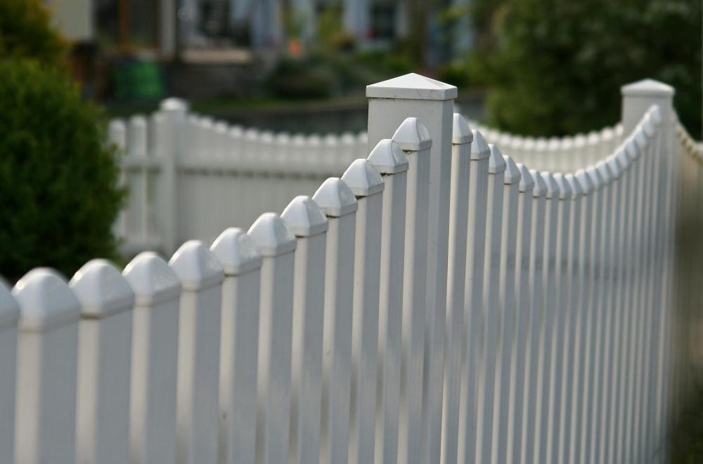 A homeowner should be clear of property lines before installing fencing.