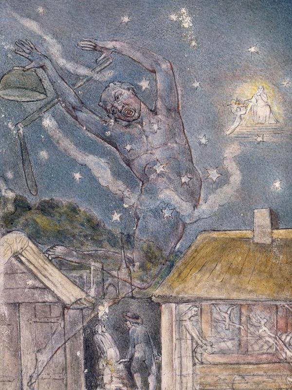 William Blake was a Romantic poet and painter.