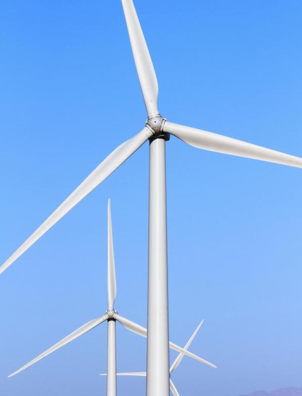 Wind is a renewable resource, and as such wind energy can never be depleted.