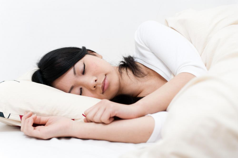 Pillows provide support during sleep.