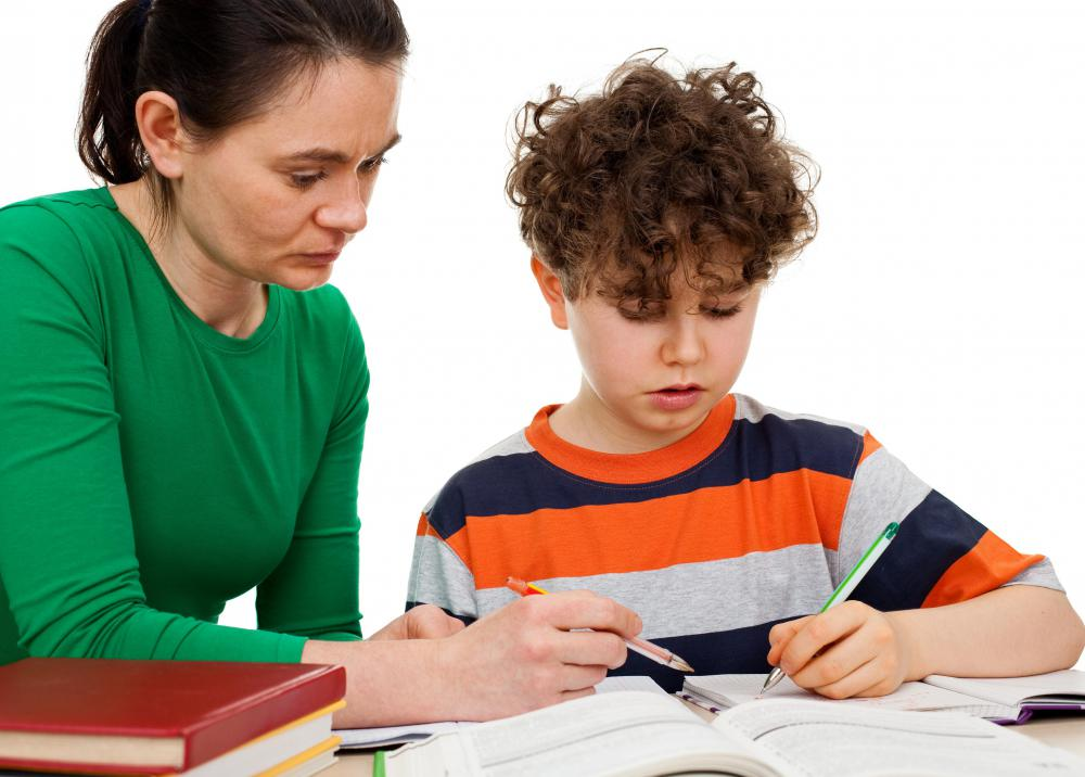 Parental help and guidance can assist a child's academic success.