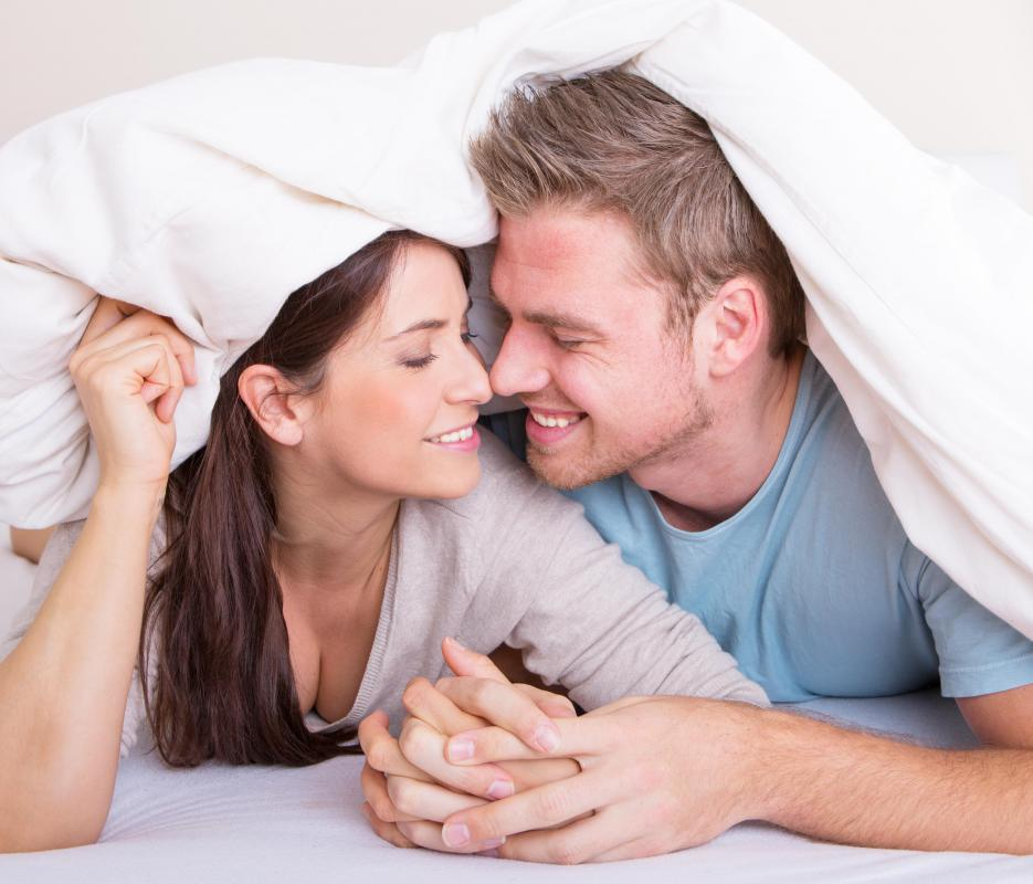 Expressing healthy sexuality may require a deep level of trust between partners.